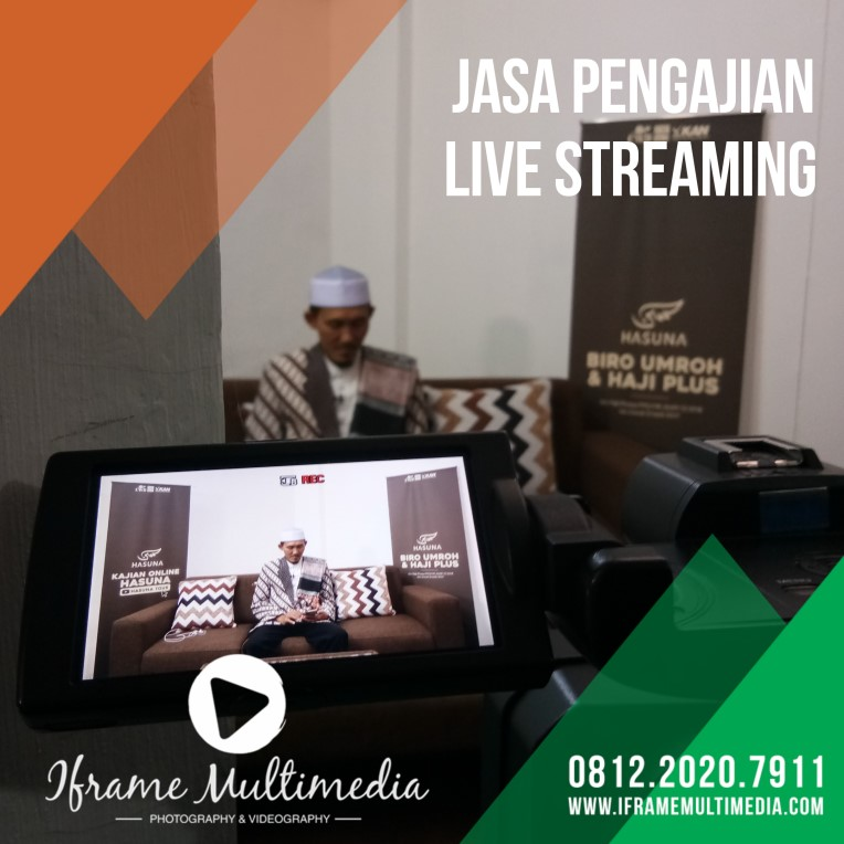 jasa live streaming pengajian