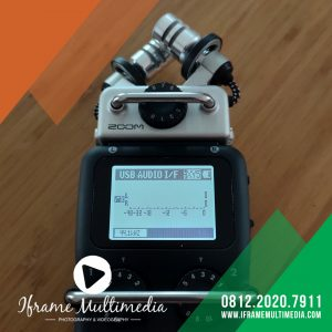 Tampilan Mode Audio Interface Zoom H5