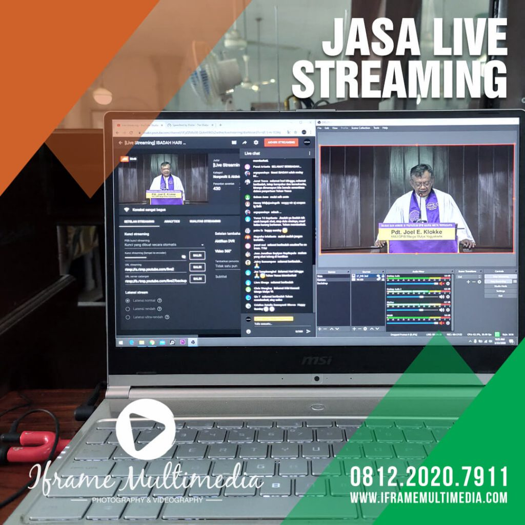 Jasa Live Streaming Ibadah Minggu