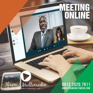 MEETING ONLINE: TRIK RAPAT DI KALA SOCIAL DISTANCING