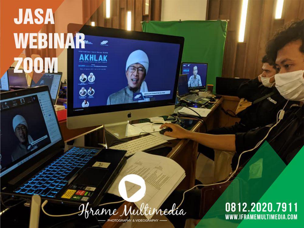 Jasa Webinar Zoom