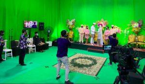 virtual stage green screen