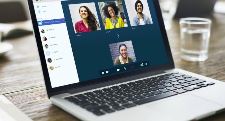 cara berbagi layar saat meeting virtual